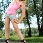 Roller skates — Stock Photo #11851426