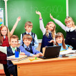 Schoolchildren — Stock Photo #11851442