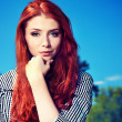 Royalty-Free Stock Photo: Red hair