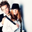 Stylish couple — Stock Photo #11869751