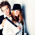 Stylish couple — Stock Photo