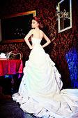 Lång klänning — Stockfoto