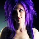 Purple beauty — Stock Photo