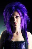 Bellezza viola — Foto Stock