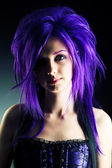 紫色魅力 — 图库照片