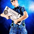 Royalty-Free Stock Photo: Music lover