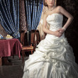Glamourous bride — Stock Photo