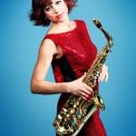 Trumpeter — Stock Photo #12196430
