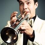 Trumpeter — Stock Photo #12196433