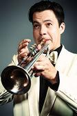Trumpeter — Stock fotografie