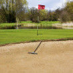 Golfplatz — Stockfoto