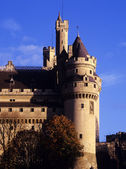 Chateau pierrefonds — Stock Photo
