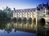 Chateau chenonceau — Stock Photo