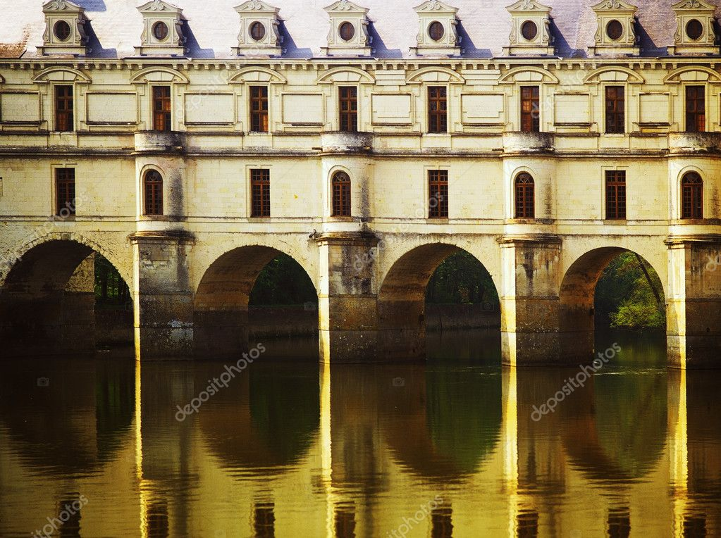 Chateau chenonceau loire valley france europe — Stock Photo #10808509