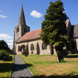 St Nicolas church warwick. — Stock Photo