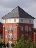 Racecourse new housing and flats stratford upon avon warwickshire england uk — Stock Photo