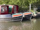 Marina worcester and birmingham canal alvechurch worcestershire uk — Stock Photo
