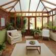 Stock Photo: Conservatory