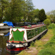 Canal boats — Stock Photo