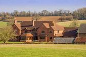 Müstakil ev kırsal — Stok fotoğraf