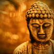 Buddha in sepia - Stock Photo