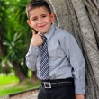 Thumbs up child — Stock Photo #11071325