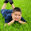 Happy young latino boy — Stock Photo