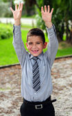 Very happy child — Stock Photo