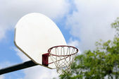 Basketballkorb — Stockfoto
