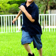 Stock Photo: Child running