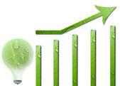 Eco friendly business idea — Stock Photo