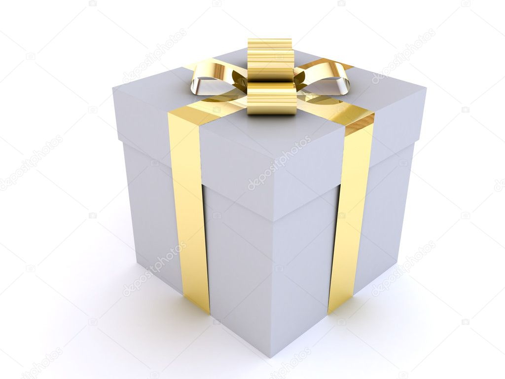 This picture shows the gift — Foto de Stock   #10825612