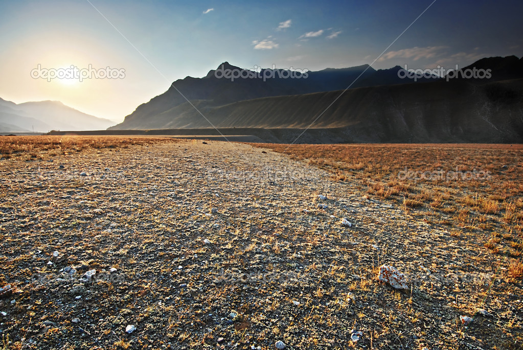 The rocky valley. Mountain Altai, Russia. — Stock Photo #11138968