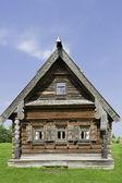 Fasady domów, wieś. — Zdjęcie stockowe