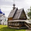 Russian Wooden Church. Suzdal. — 图库照片