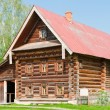 Stock Photo: Two-storey wooden house of wealthy farmer. Suzdal. Russia.