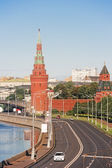 Embankment of the Moscow Kremlin — Stock Photo