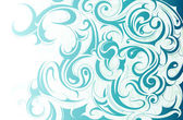 Ornamento de água líquida — Vetorial Stock