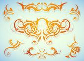 Decorative shapes — Stockvektor