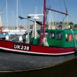 Fishing boat UK 238 — Stock Photo