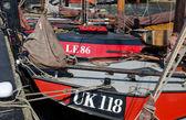 Viejos barcos de pesca — Foto de Stock