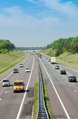 Highway A1 near Apeldoorn — Stock Photo