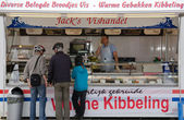 Fried fish shop in Marken — Stock Photo