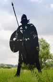 Estatua de vikingo — Foto de Stock