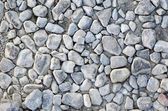 Close up of broken rubble stones — Stock Photo