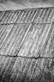 Old roofing slate texture — Stock Photo