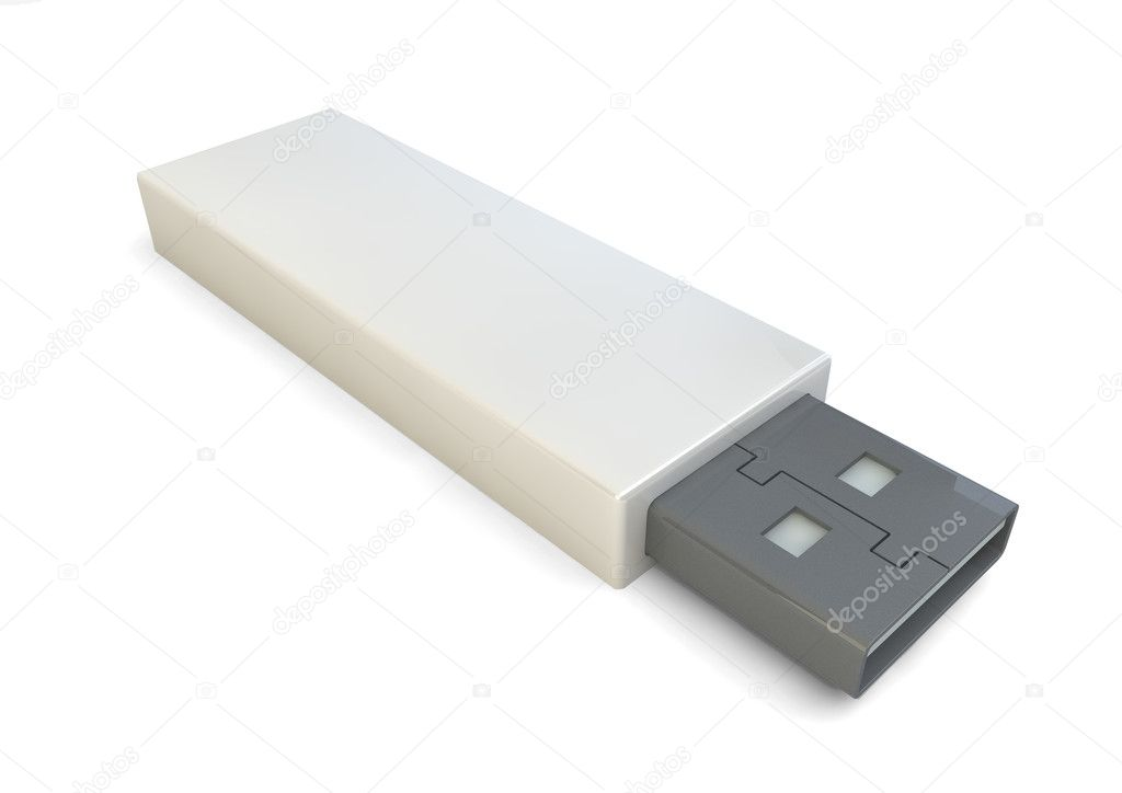 Render of an usb — Stock Photo #11919772