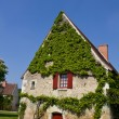 Farm house in France - Stock Photo