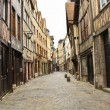 Old street in Rouen — Stock Photo #10805269
