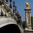 Pont Alexandre III, Paris - Stock Photo